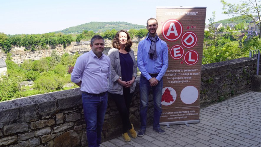 L'équipe dirigeante située à Bozouls du groupe ADEL Nord Aveyron.
