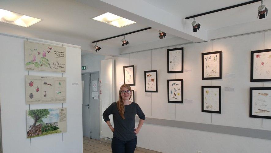 Les œuvres de Lisa Chauvin sont visibles jusqu'au 21 juin.