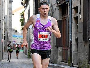 Samy Vérien, vainqueur sur le 10 km.