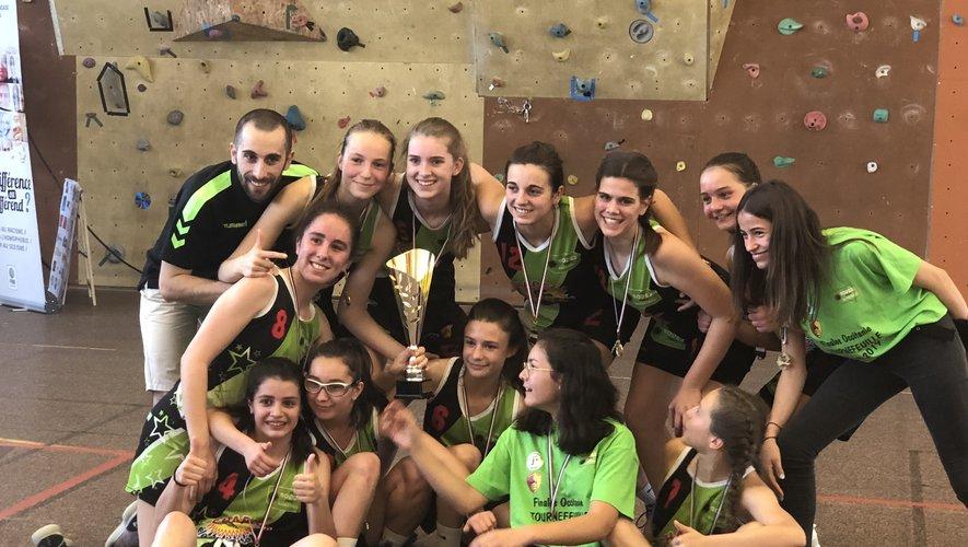 Belle victoire des U15