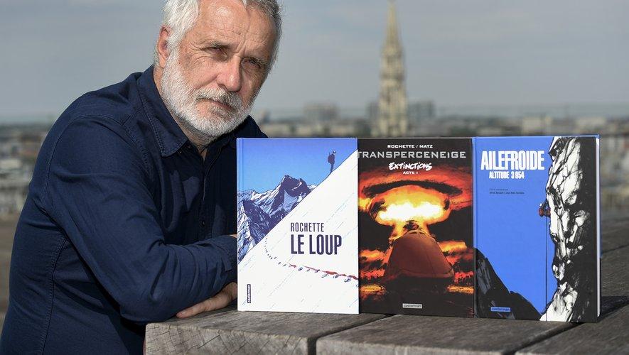 """Jean-Marc Rochette, dessinateur culte du """"Transperceneige"""""""