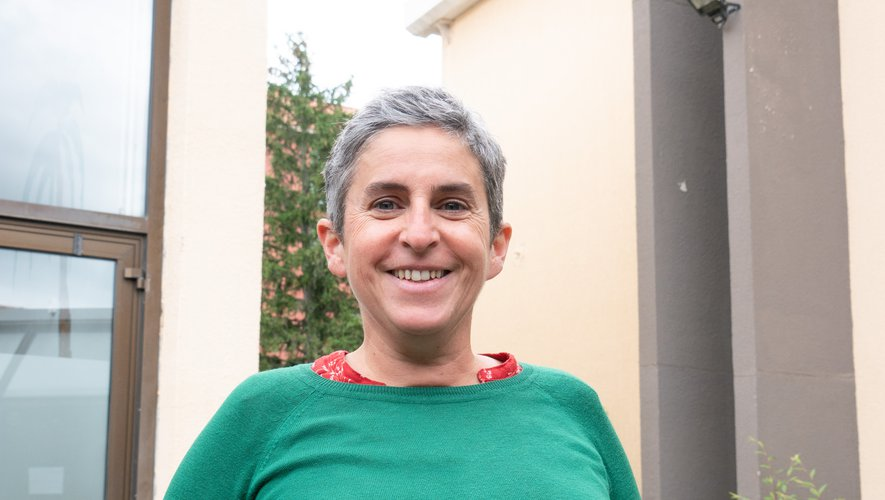 Karine Gaidella, la coprésidente de l'association.