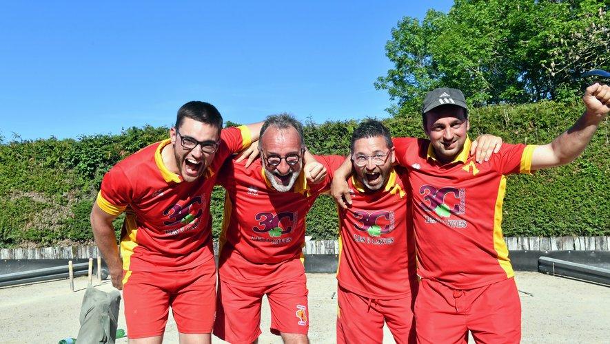 Au palmarès, les Ruthénois succèdent aux joueurs de Lunel, qui finissent la saison à la septième place du classement.
