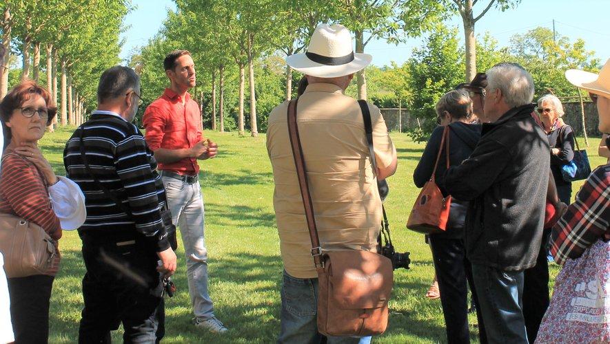Plusieurs groupes ont bénéficié de visites guidées.