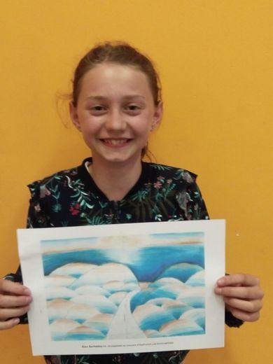"Elora Barthélémy, prix de l'illustration des ""Incorruptibles"""