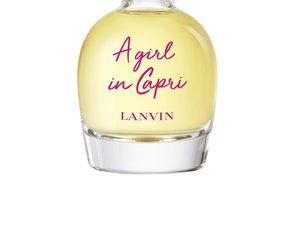 """Le parfum """"A girl in Capri"""" de la maison Lanvin."""