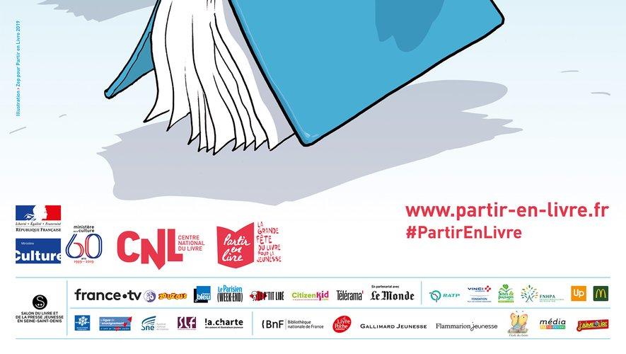 """""""Partir en livre"""", la grande fête du livre pour la jeunesse, célèbre du 10 au 21 juillet sa cinquième édition avec près de 7.000 événements"""