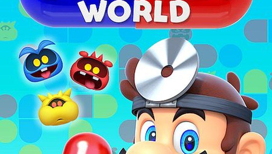 """""""Dr. Mario World"""" sera disponible le 10 juillet"""