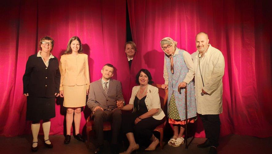Les sept comédiens vous embarqueront avec leurs sketches pour un moment de bonne humeur.