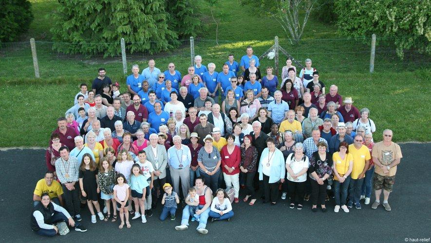 La grande famille des « Comps ».