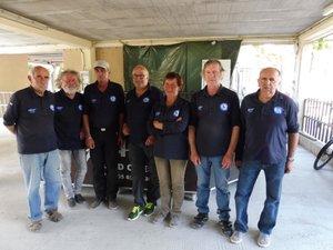 L'équipe de Saint-Geniez-d'Olt.