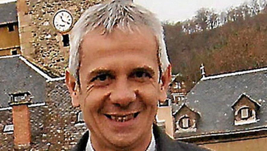 Marc Bories, maire de Saint-Geniez-d'Olt et d'Aubrac.