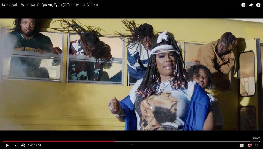 """Kamaiyah vient de dévoiler le single """"Windows"""" avec Quavo et Tyga."""