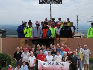 """Les cyclosportifs de Run & Bike  ont """"grimpé"""" le mont Ventoux"""