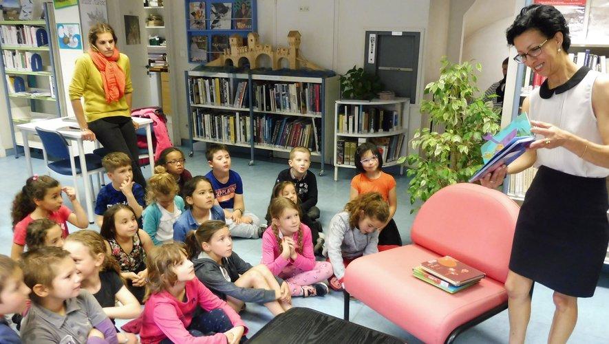Les écoliers de CP-CE1 de l'école Jean Monnet ont apprécié cette animation.