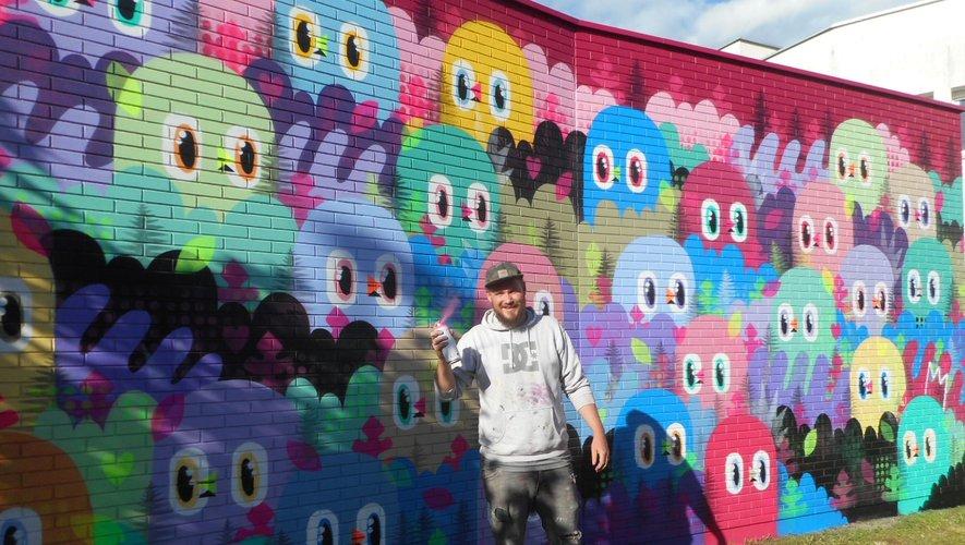Le muralisme est un art à part entière. Bishop Parigo et ses confrères en apportent la preuve.