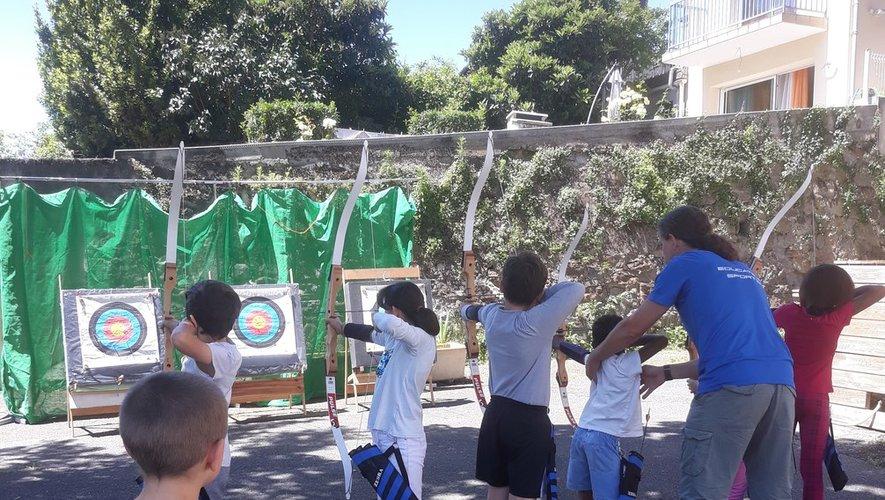 Initiation au tir à l'arc pour les jeunes