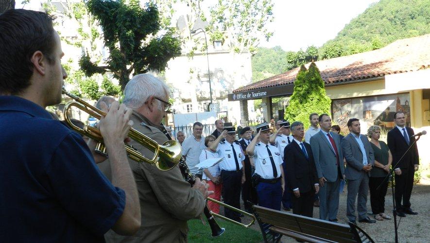 L'Union musicale a interprété « La Marseillaise » et « Le Chant des partisans ».