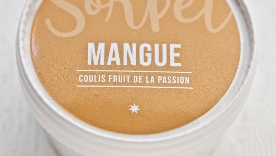 Le sorbet mangue et coulis fruit de la passion de Christophe Michalak