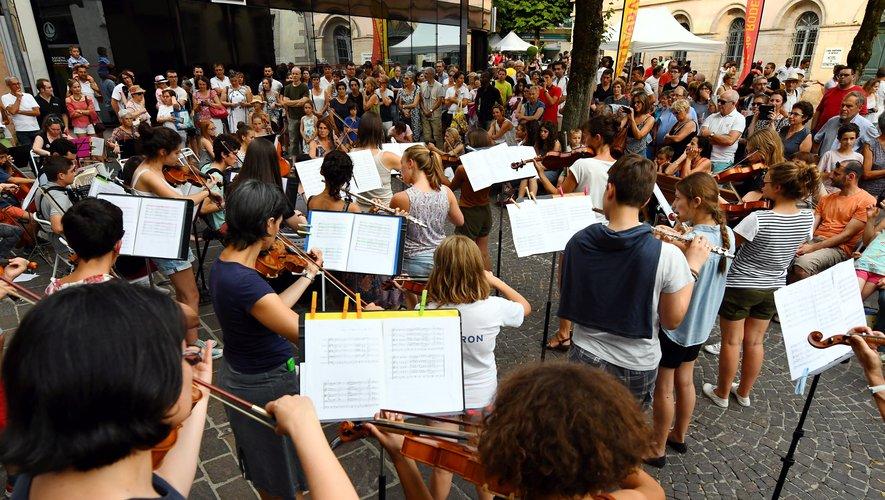 Ce vendredi 21 juin, la musique est à la fête en Aveyron.
