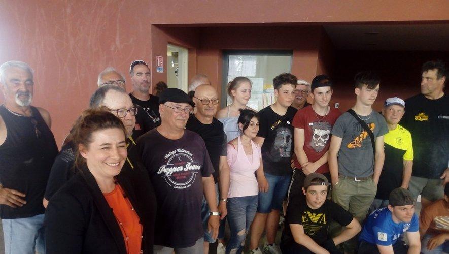 Un moment de convivialité avec les jeunes de la Maison familiale rurale.