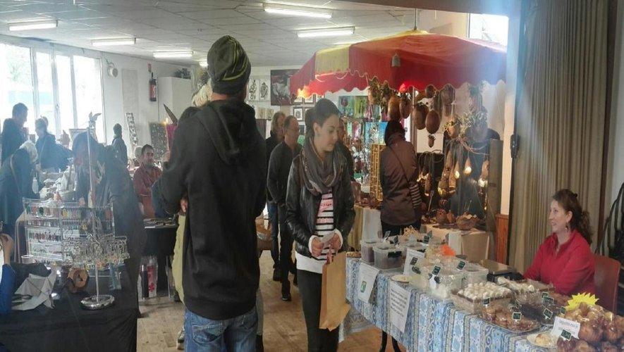 Le public est venu à la rencontredes artisans.