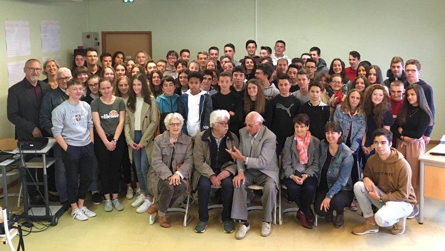 Un bel hommage rendu à Jean Amans au collège public qui porte son nom