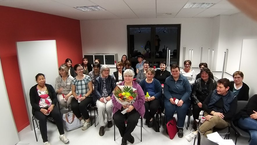 ADMR : un départ à la retraite bien mérité pour Régine Coudrillier