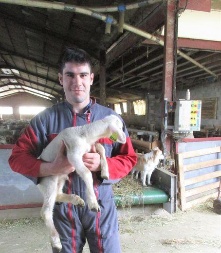 Kévin Boissonnade, 25 ans, réside au Bruel.