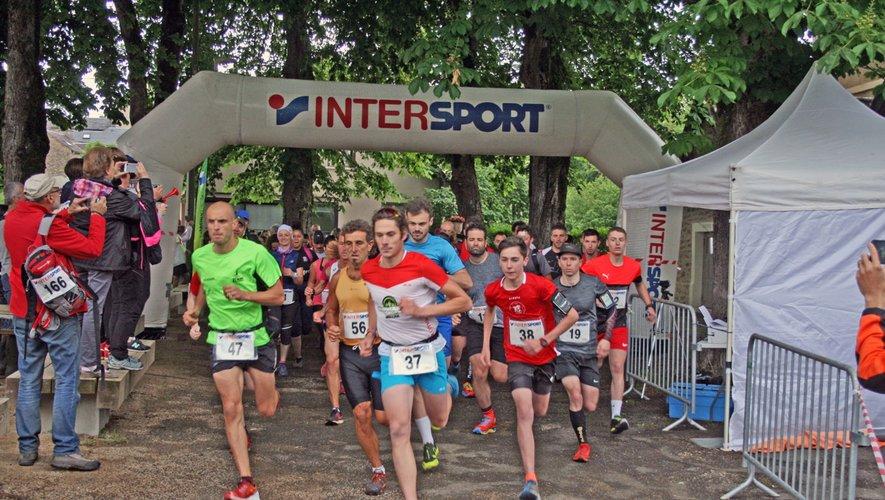 90 participants s'élancent pour le parcours de 8 km
