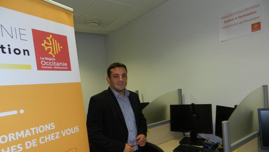 Jean-Sébastien a présenté hier matin le tiers lieu formation à distance de la Région.