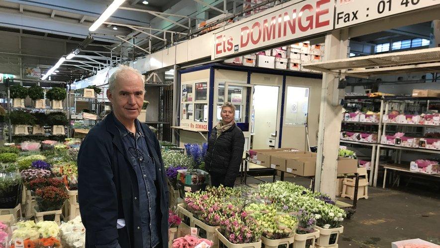 Jean-Pierre Dominge a toujours aimé les fleurs...