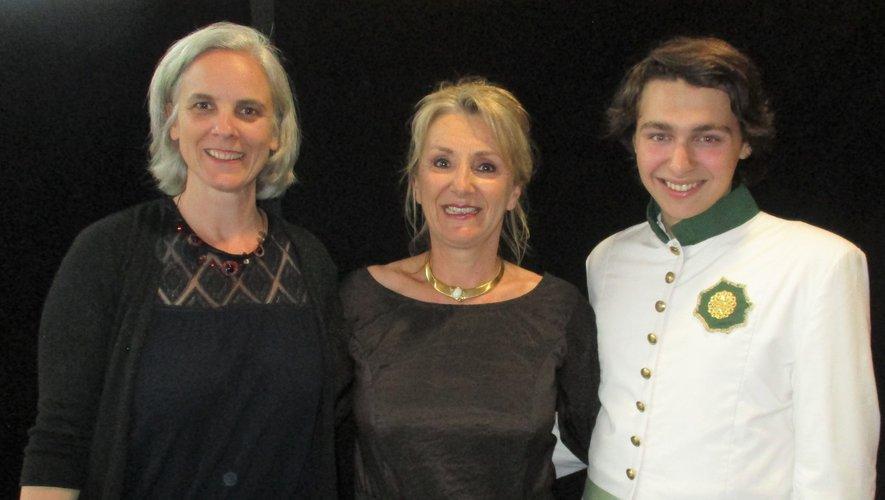 Spectacle l'Aiglon : la cantatrice Lydie Roussel à l'honneur