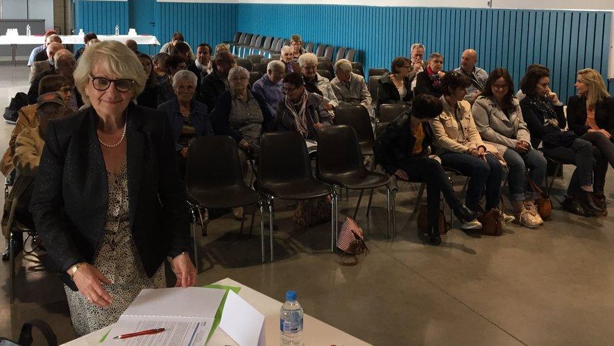 Une réunion partagée par un large public.