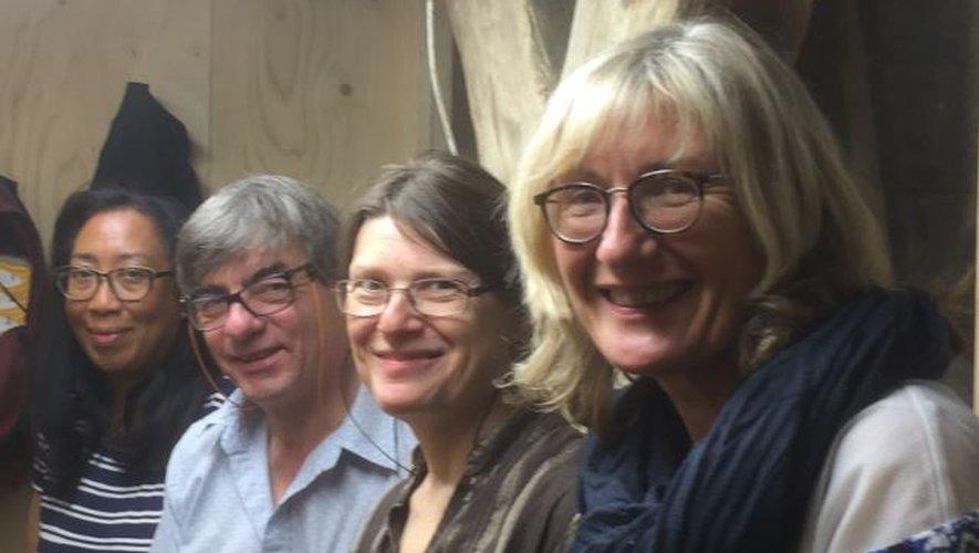 Quatre carillonneurs occitans.