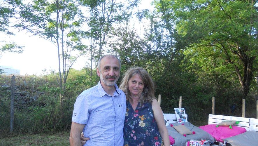 Éric et Anita Palengat regrettent déjà quelques amis du Villeneuvois.