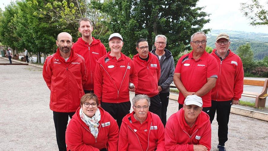 L'équipe qui a joué la coupe du Comité./Photo DDM