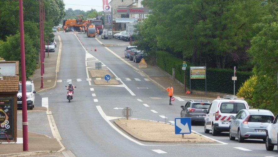Une circulation alternée a été mise en place.
