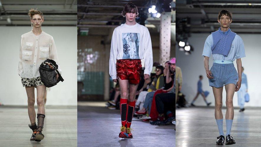 Le short version mini par Münn, Jordanluca, et Fashion East.