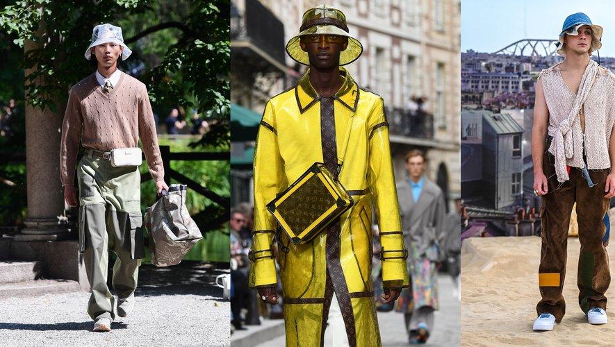 Le bob par Fendi, Louis Vuitton, et Pigalle Paris.