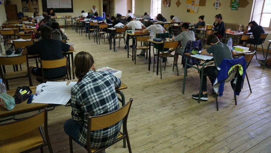 Les examens du brevet des collèges reportés.