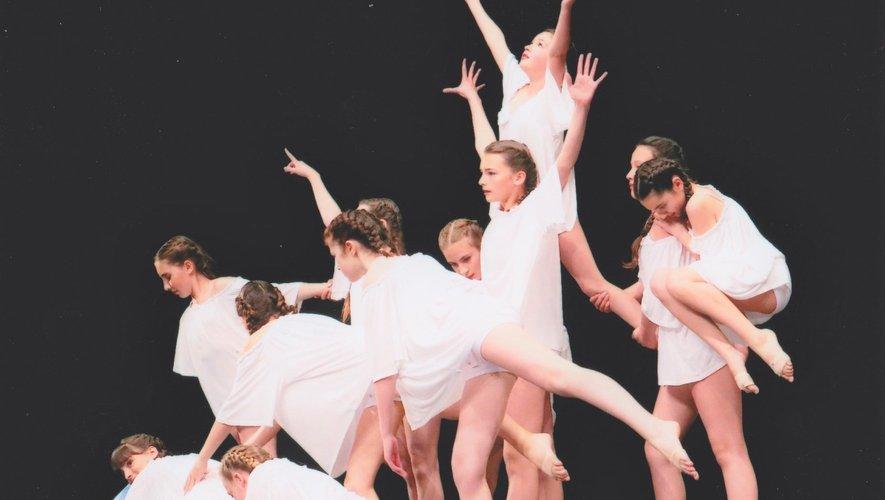 Les petites danseuses donnent rendez-vous samedi 29 juin.