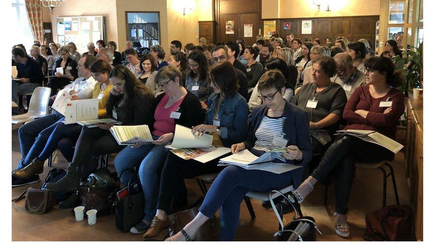 Plus de 250 personnes rassemblées sur le thème de la prévention des chutes.