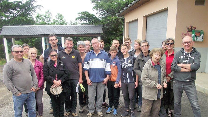 Plus de trente volontaires ont participé à cette matinée d'entretien.