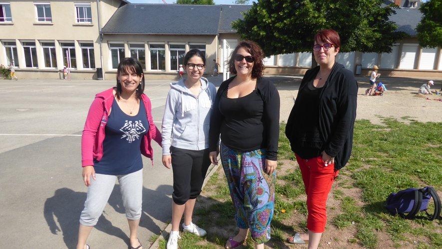 Vanessa, directrice de l'accueil de loisirs, Mélanie, Marie et Aurélie, animatrices, vous accompagneront.