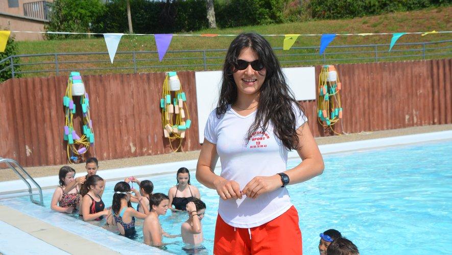 Camille Revel, passionnée de natation et de danse contemporaine.