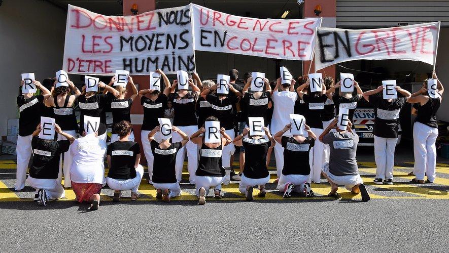 L'ensemble du personnel des urgences était en grève, mercredi 26 juin.