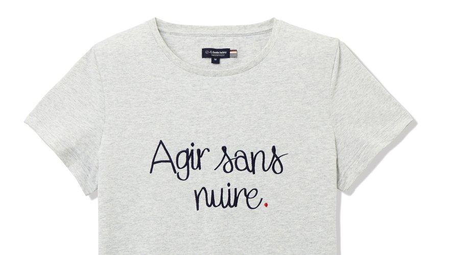 Un des T-shirts issus de la collection de La Gentle Factory pour la rentrée.