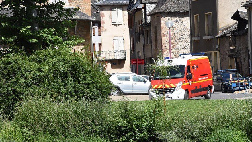 Les recherches des pompiers du Nord-Aveyron n'ont rien donné.