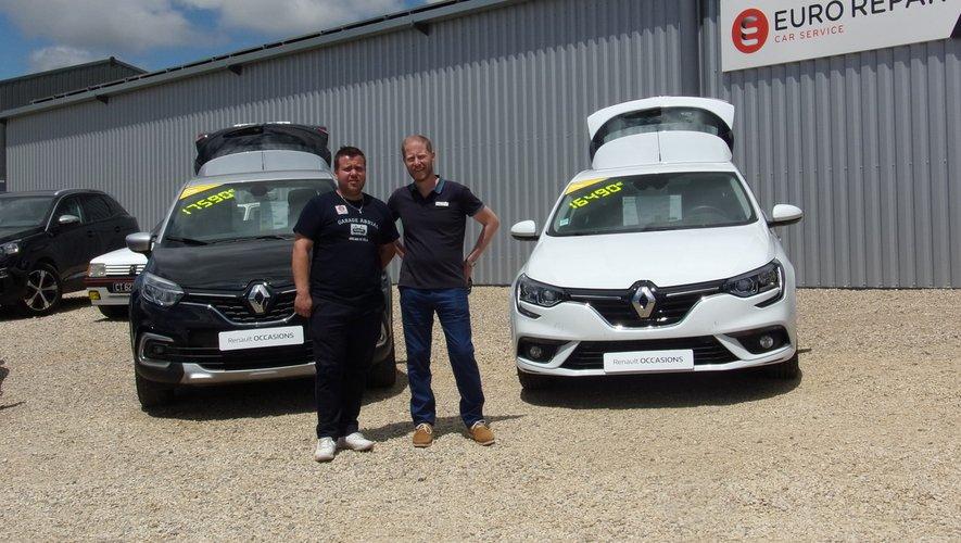 Guillaume avec le concessionnaire Renault
